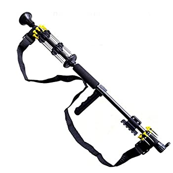 24  .50 Caliber Big BORE Tactical Blowgun with 10 Spear Darts 8 Spike Darts Sling Tactical Mount Pistol Grip and Peep Site