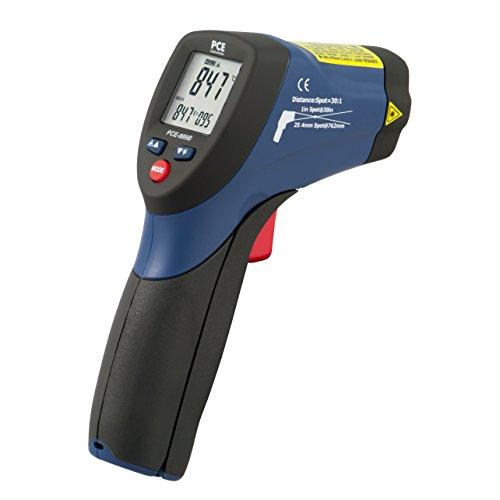 PCE Instruments - Pirómetro - Termómetro infrarrojo digital portatil PCE-889B