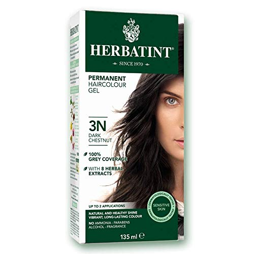 Product Image of the Herbatint Permanent Herbal Haircolour Gel 3N Dark Chestnut - 135 mL