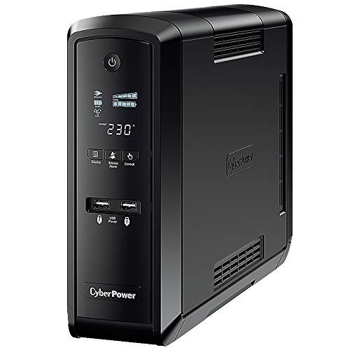 CyberPower CP1500EPFCLCD 1500VA/900W Line-Interactive Sinuswelle USB RS232 LowNoise 6X Schuko VorabAustauschservice dt.Software