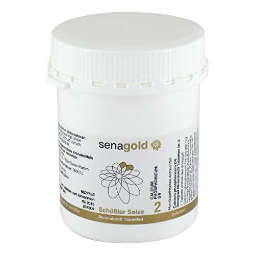 Schuessler Salz Nr. 2 - Calcium phosphoricum D6-1000 Tabletten, glutenfrei