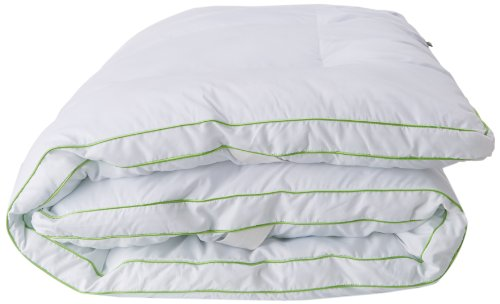 BioPEDIC MemoryLOFT Deluxe 3-Inch Memory Foam/Fiber Bed Mattress Topper, Queen Size, White