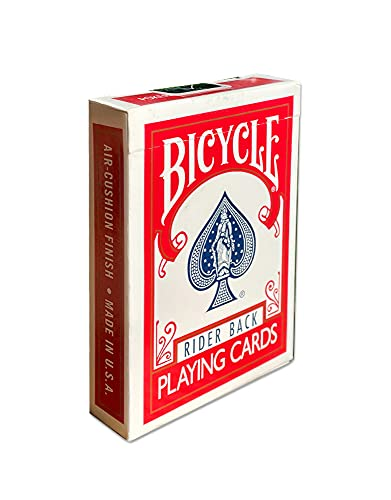 Bicycle Rider Back Index Playing Ca…