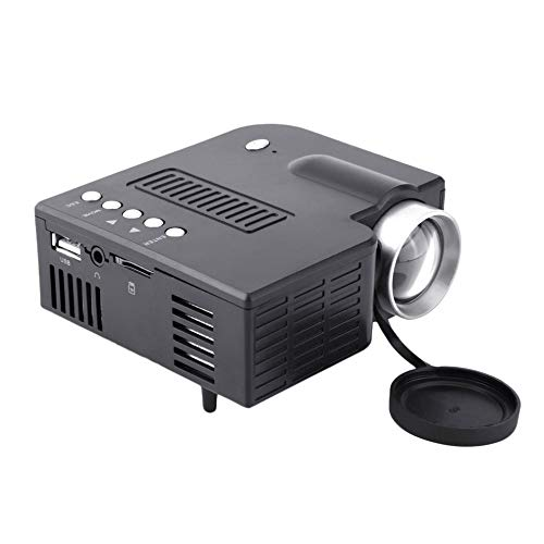 NA Mini Portable LED Projector 1080P Multimedia Home Cinema Theater LED Beamer Projector for Home Use