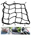 Vatsas Universal Bungee Cargo Luggage Net Holder for Bike and Motorcycle - Strong