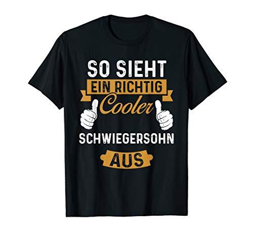 Cooler Schwiegersohn - Lustiges Geschenk Shirt