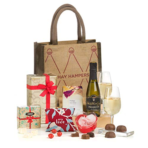 Hay Hampers -Prosecco Made Me Do It! - Hamper For Women in Gift Hand Bag