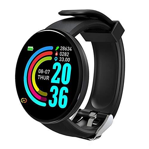 Smartwatch, Reloj Inteligente Impermeable IP68 para Hombre Mujer niños con Monitor de Sueño Pulsómetros Cronómetros Contador de Caloría, Pulsera de Actividad Inteligente para Android y iOS
