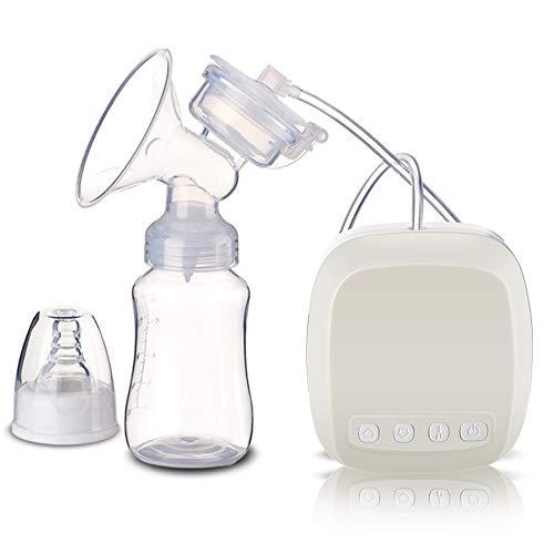 Elektrische Milchpumpe Brustmassagegerät 2 Modi 9 Saugstufen Brustmassage Und Saugen USB-Aufladung (Weiß)