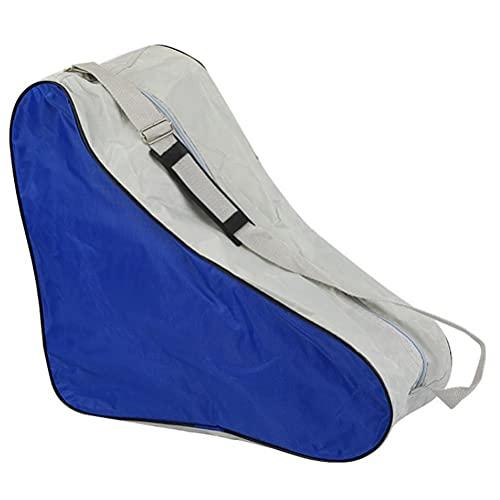 Bolsa de patín portátil con asas y correa de hombro ajustable para niños y adultos Bolsa de patinaje sobre hielo en línea