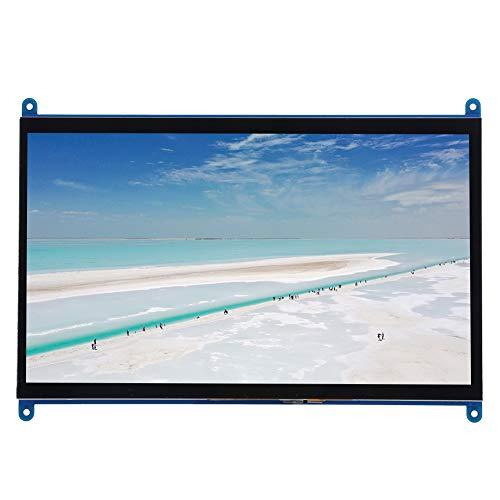Monitor Display Schermo IPS, display LCD TFT da 10 pollici 1024X600 HD con touch screen, ingresso HDMI, porte USBX2 per Raspberry Pi