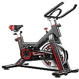 HXXXIN Bicicleta de Spinning de Lujo para el hogar, Bicicleta estática para Interiores, Equipo de Fitness
