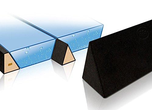 Trennkeil Trennwand dreieckigerSchaumstoff-Keil für Wasserbetten ohne Vinyl Mantel