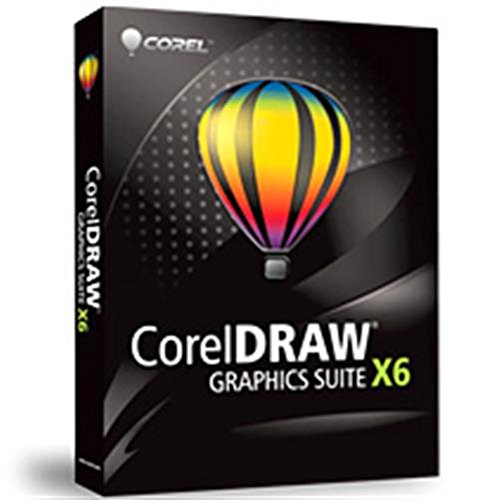 COREL DRAW Graphics Suite X6  Education DVD Case (