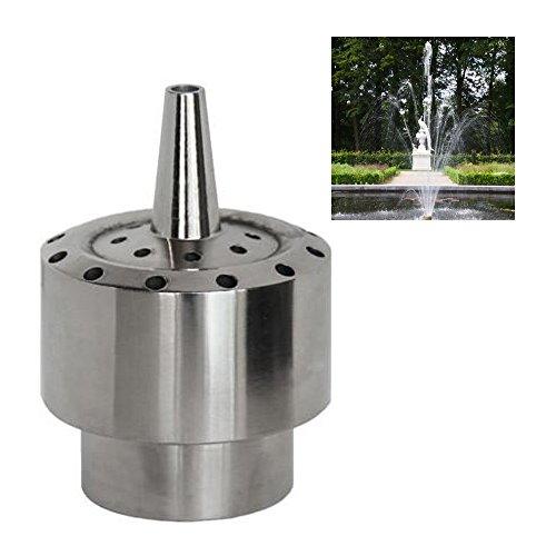 NAVA DN25 1' Stainless Steel Flower Column Water Fountain Nozzle Pond Spray Sprinkler Head