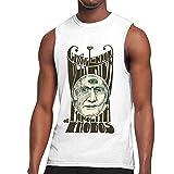 RobinEllis Claypool Lennon Delirium Tank Top Ment Shirt Training Sports Sleeveless T Shirts Vest White