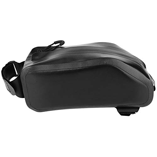 Find Bargain Alomejor Outdoor Sports Waterproof Cycling Riding Bike Frame Bag Front Tube Bicycle Bag...