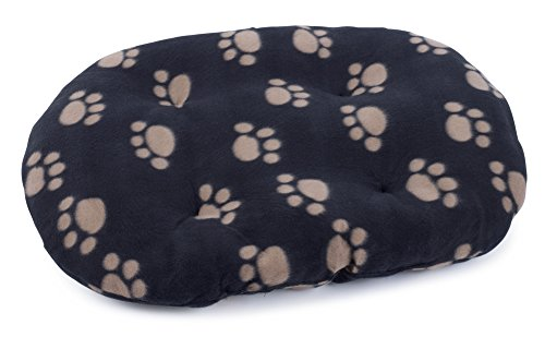 Petface Archie's Oval Cushion, 2X-Large, Black