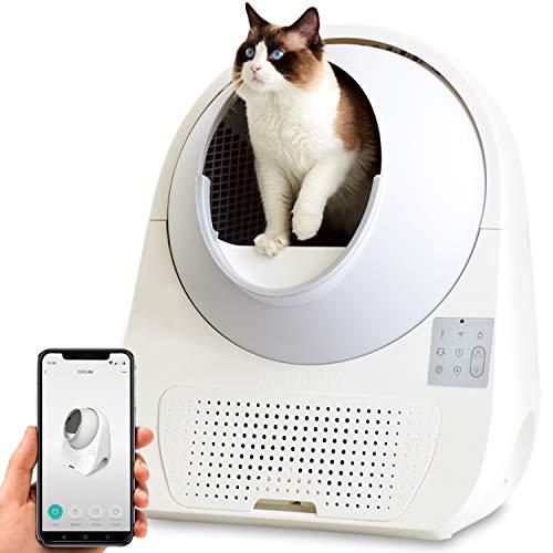 自動ネコトイレ CATLINK 本体 キャットリンク スマホのアプリで操作や管理 1年保証付き OFTオリジナル日本語説明書付き 替えライナー付き お留守番 重量センサーで個別認識 OFTオリジナル化粧箱