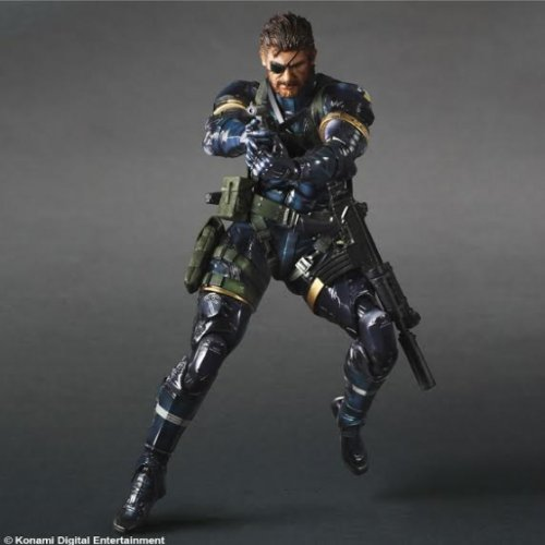 Metal Gear Solid V Ground Zeroes Play Arts Kai Serpent