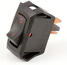 Carling Technologies RA901-VB-B-9-V Switch, Rocker, SPST, 16A, 250V, Black