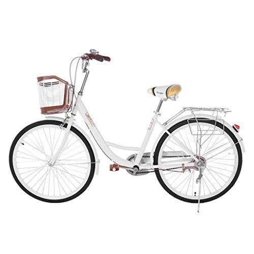 26 High-Carbon Mountain Bike Cruiser Bike Classic Bicycle Retro Bicycle Beach Cruiser Bicycle Trail Bike MTB Bike for Adult Teens