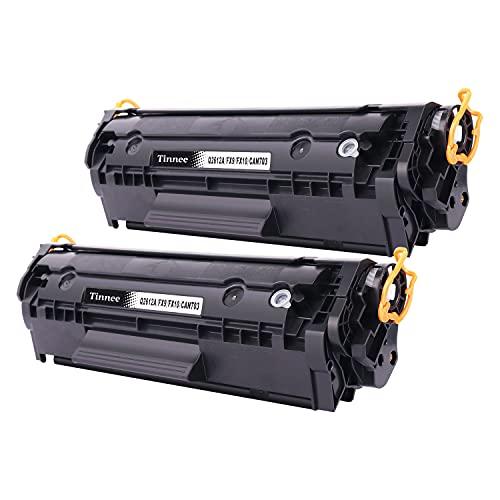 Tinnee Q2612A - Toner di ricambio per HP 12A Q2612A 2612A, compatibile con HP Laserjet 1015 1018 1010 1012 1020 1022 1022n 1022nw 3015 3020 3030 30 30 50 30. 52 3055 M1005 M1319 M1319f
