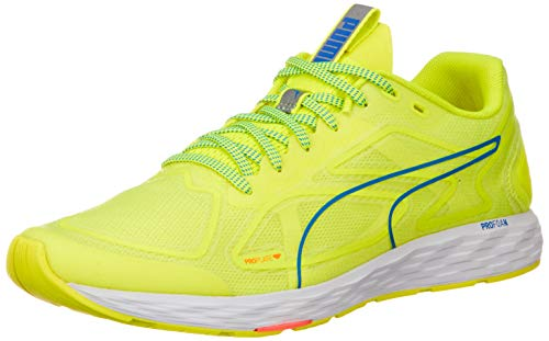 Puma Herren Speed 300 Racer 2 Sneaker, Gelb (Yellow Alert White-Palace Blue), 47 EU