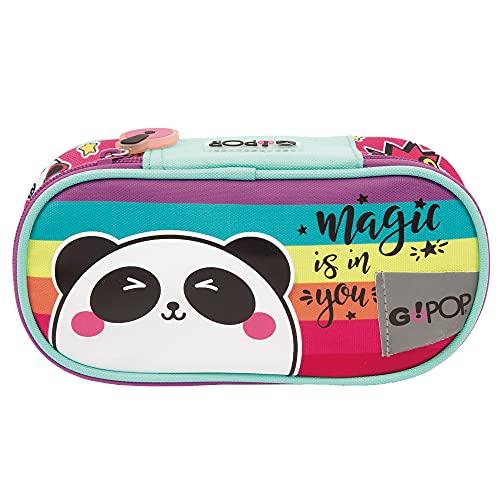 Giochi Preziosi GoPop 21 Panda Magic Bustina Ovale, con Organizer Interno, GG9G5410