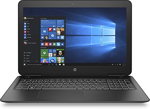 HP Pavilion Laptop 15-bc303ng 39,6 cm (15,6 Zoll Full HD) Laptop (Intel Core i7-7500U, 8GB RAM, 1TB HDD, 128GB SSD, Nvidia GeForce GTX 950M 4GB, Windows 10 Home) schwarz