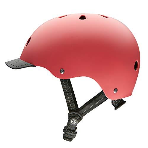 Nutcase Street Helm, Korallen Satin, M