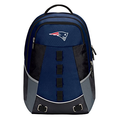 """NFL New England Patriots """"Personnel"""" Backpack, 19"""" x 5"""" x 13"""""""