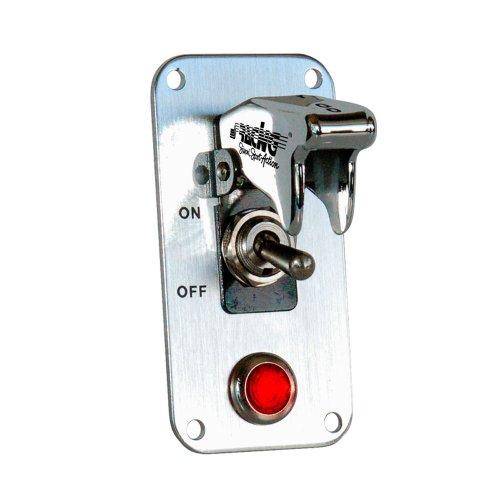 Simoni Racing Panneaux Interrupteur - Aluminium + Interrupteur Chromé