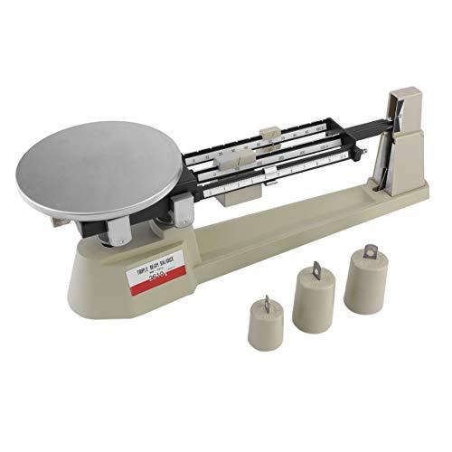 2610gX0.1g Mechanical Balance Scale Portable Triple Beam Pan Steelyard Lab Analytical Weighing Balance Scale