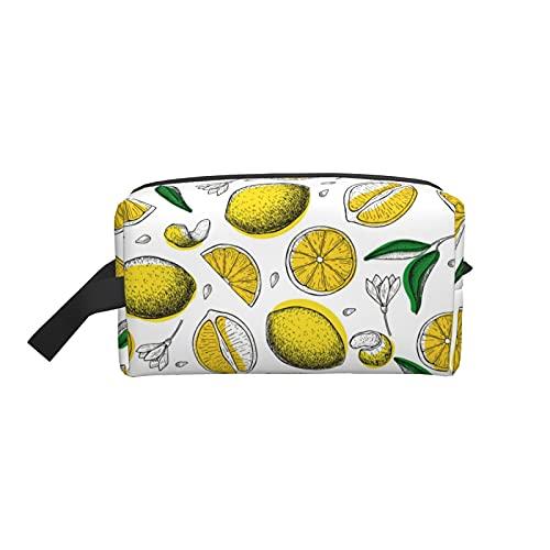 Lemon Trousse de maquillage portable pour femme
