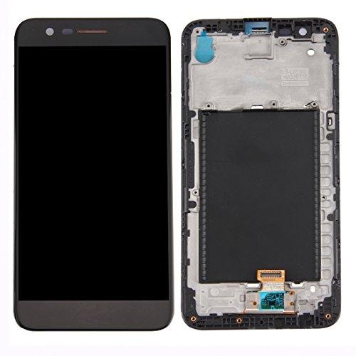 meihansiyun Accesorios de un teléfono IPartsBuy for LG K10 2017 Pantalla LCD + Asamblea de digitalizador de Pantalla táctil con Accesorio de Marco
