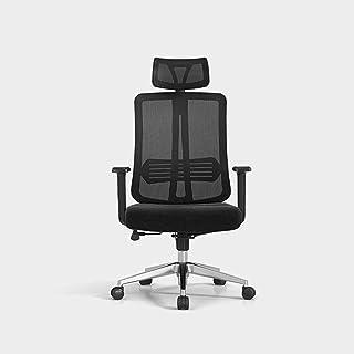Chaise de jeu MHIBAX Chaise debureau simple, chaise d'ordinateur d'ingénierie ergonomique, chaise pivotante, chaise de ...