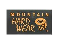 MOUNTAIN HARDWEAR(マウンテン ハードウェア)ステッカー GY/OR 【 MOUNTAINHARDWEAR ・ マウンテンハードウェア ・ MOUNTAIN HARD WEAR ・ マウンテン ハード ウェア ・ MHW 】