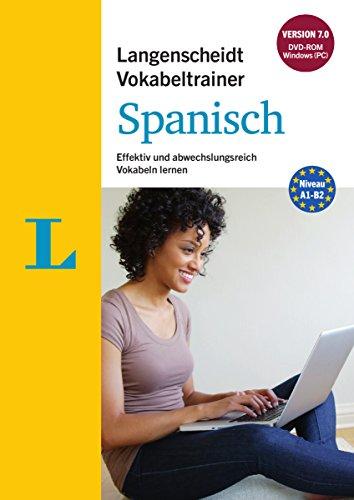 Preisvergleich Produktbild Langenscheidt Vokabeltrainer 7.0 Spanisch - DVD-ROM: Effektiv und abwechslungsreich Vokabeln lernen
