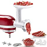 Food Meat Grinder Attachments for KitchenAid Stand Mixers,...