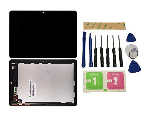 Flügel für Huawei MediaPad T3 10 / AGS-L03 / AGS-L09 / AGS-W09 Bildschirm LCD Ersatzdisplay Schwarz Touchscreen Digitizer Display Glas Assembly (ohne Rahmen) Ersatzteile und Werkzeuge und Kleber