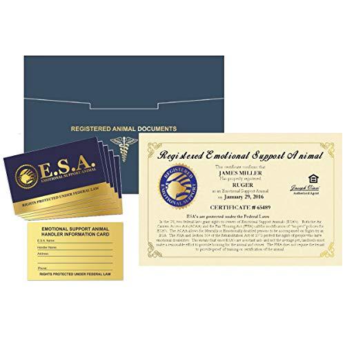 WORKINGSERVICEDOG.COM - Official Emotional Support Animal ESA Certificate