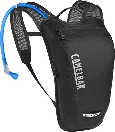 CamelBak Hydrobak Light, 1.5 l, Unisex Adulto, Negro, Plata, Talla única