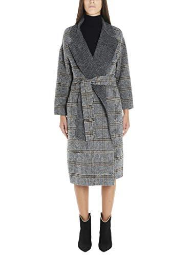 Luxury Fashion | Twin-Set Damen 192TP2300S1092604018 Grau Kaschmir Mantel | Herbst Winter 19