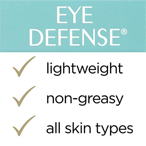 417cAPiOjzL - L'Oreal Paris Skincare Dermo-Expertise Eye Defense Eye Cream with Caffeine and Hyaluronic Acid For All Skin Types 0.5 oz.