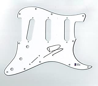 Dave Grohl Nirvana Foo Fighters Signed Guitar Pickguard Certified Authentic Beckett BAS COA