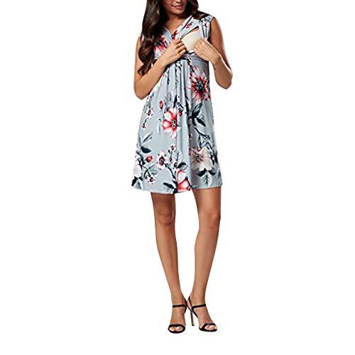 STRIR Mujeres Maternidad Lactancia Materna Verano Vestido Casual Sexys Y Elegantes Moda Mujer 2019 Vestidos De Mujer Verano Vestidos De Fiesta para Comuniones Vestidos