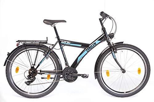 tretwerk DIREKT gute Räder Onux Tarantula 26 Zoll ATB, Jungen-Herren-Fahrrad Schwarz