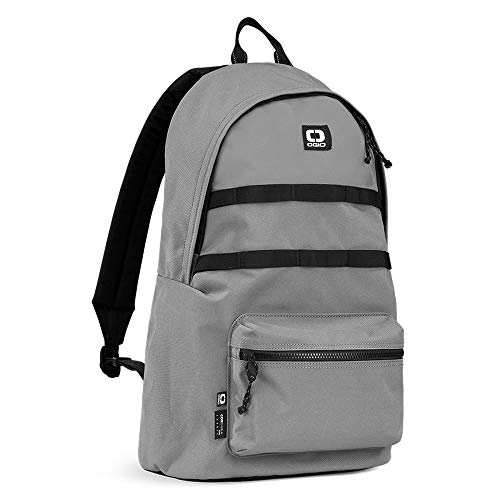 OGIO Alpha Convoy 120 EcoMade-Cordura 15 Inch Durable Laptop Backpack (20 Litre Capacity), Charcoal, 48 cm
