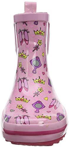 Beck Mädchen Prinzessin Gummistiefel, Pink (Rosa 03), 30 EU - 2